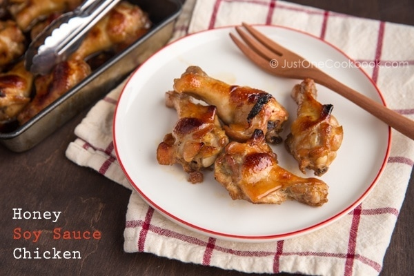 Honey Soy Sauce Chicken | JustOneCookbook.com