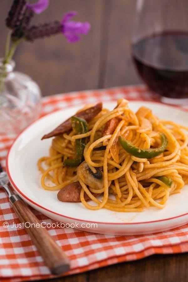 Ketchup Spaghetti | JustOneCookbook.com