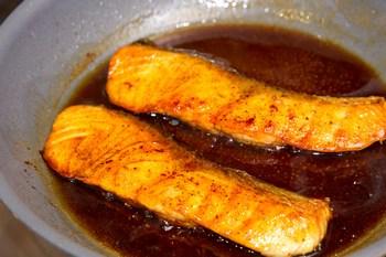 Teriyaki Salmon 7