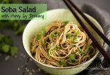 Soba Salad with Honey Soy Dressing | JustOneCookbook.com
