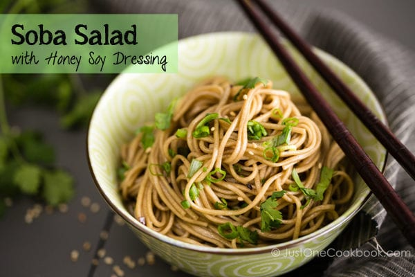 Soba Salad | Easy Japanese Recipes at JustOneCookbook.com