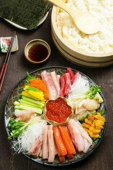Temaki Sushi Ingredients