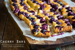 Cherry Bars | Easy Japanese Recipes at JustOneCookbook.com