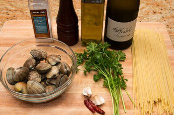 Clam Pasta Ingredients