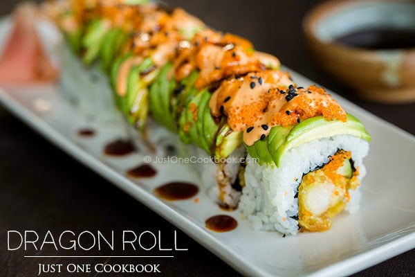 ... sushi rice dragon roll dragon sushi roll recipe dragon roll at cailins