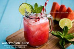 Watermelon Juice | Easy Japanese Recipes at JustOneCookbook.com