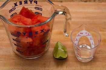 Watermelon Juice Ingredients