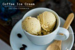 Coffee Ice Cream | Easy Japanese Recipes at JustOneCookbook.com