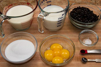 Coffee Ice Cream Ingredients