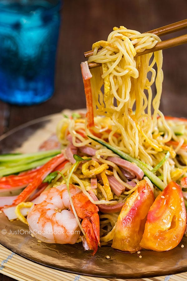Hiyashi Chuka (Cold Ramen) | Easy Japanese Recipes at JustOneCookbook.com