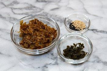Homemade Furikake Ingredients