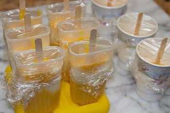 Mango Lassi Popsicles 8