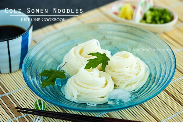 Somen  | Easy Japanese Recipes at JustOneCookbook.com