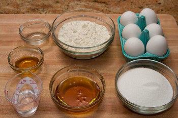 Castella Ingredients