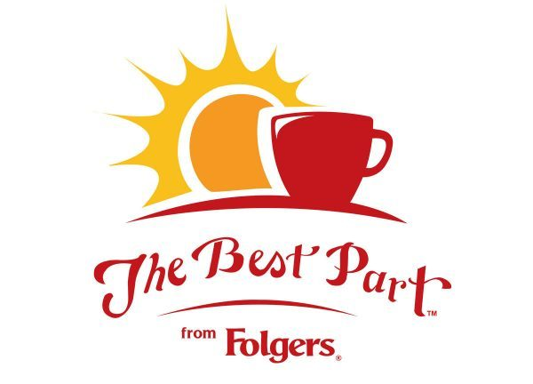 The best part folgers logo