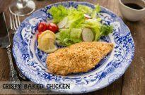 Crispy Baked Chicken (non-fried Chicken Katsu) | Easy Japanese Recipes at JustOneCookbook.com