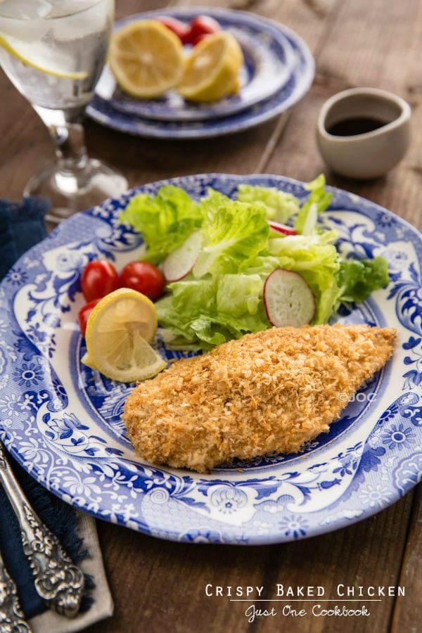 Crispy Baked Chicken (Chicken Katsu) | Easy Japanese Recipes at JustOneCookbook.com