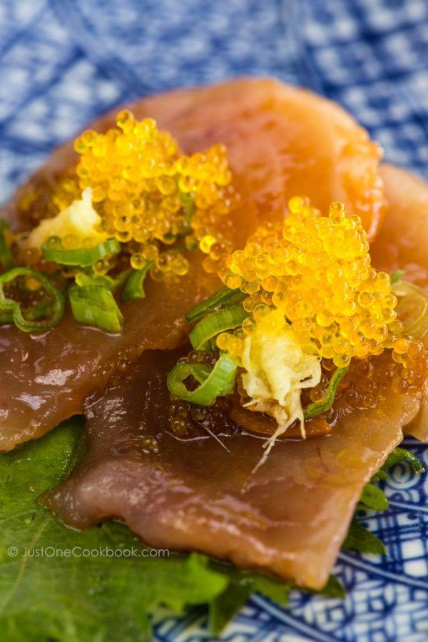 Garlic Albacore Tuna   Easy Japanese Recipes at JustOneCookbook.com