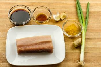 Garlic Albacore Ingredients
