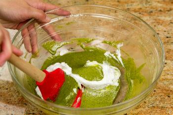 Green Tea Chiffon Cake 5