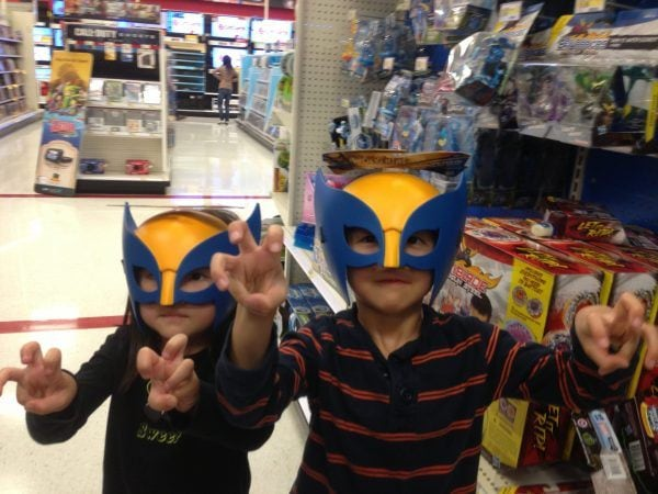childrens wolverine mask