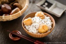 Chestnut Rice | Easy Japanese Recipes at JustOneCookbook.com