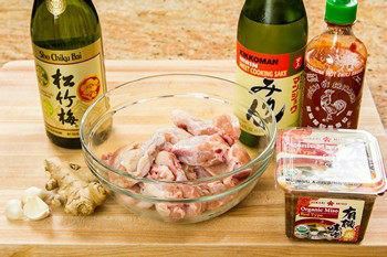 Spicy Miso Chicken Ingredients