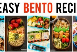 15 Easy Bento Recipes Just One Cookbook