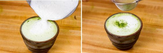 Green Tea Latte 5