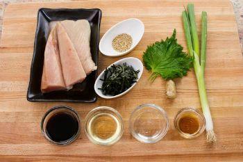 Albacore Tuna Bowl Ingredients