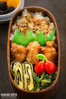 karaage bento recipe | Just One Cookbook