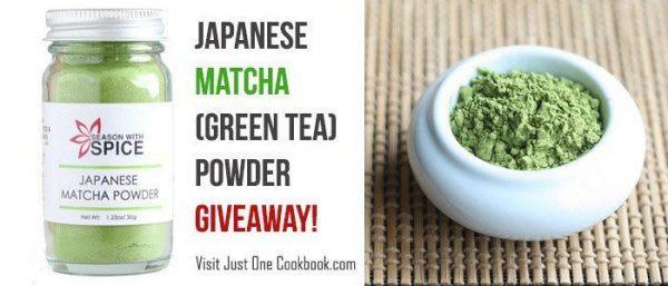 Matcha Powder Giveaway 700