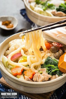 nabeyaki udon noodle recipe | Just One Cookbook