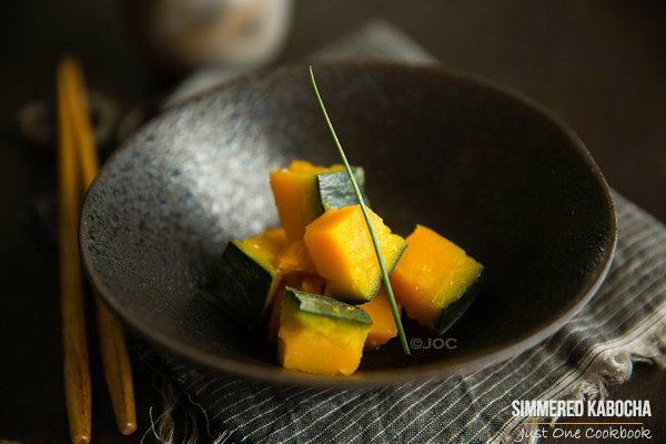 simmered kabocha with Shio Koji | Easy Japanese Recipes at JustOneCookbook.com