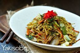 Yakisoba Recipe | JustOneCookbook.com