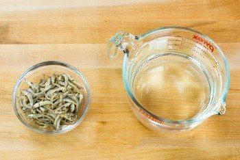 Iriko Dashi Ingredients