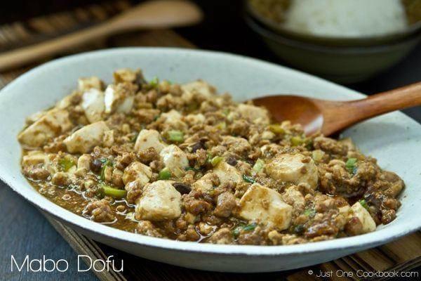 Mabo Dofu (Mapo Tofu) Recipe | JustOneCookbook.com