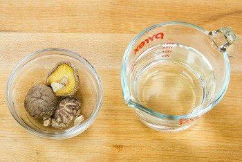 Shiitake Dashi Ingredients