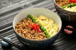 Soboro Don Recipe | JustOneCookbook.com