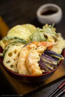 Tendon (Tempura Donburi) | Easy Japanese Recipes at JustOneCookbook.com