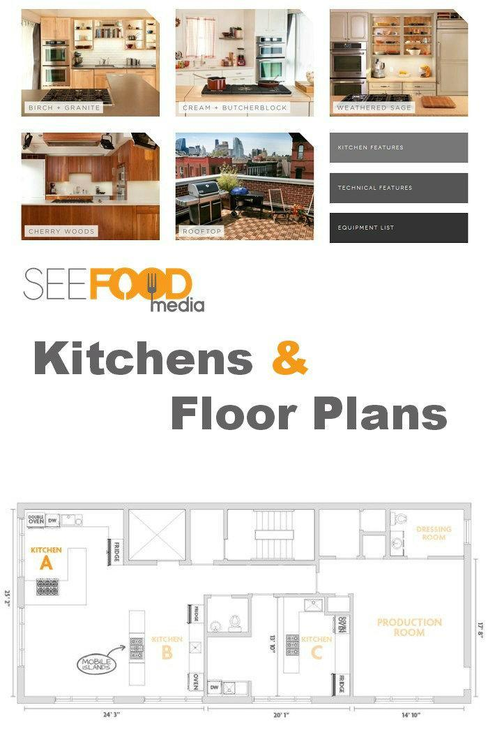 Seafood Media Floor Plans