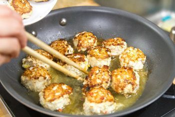 Chicken Meatballs 11