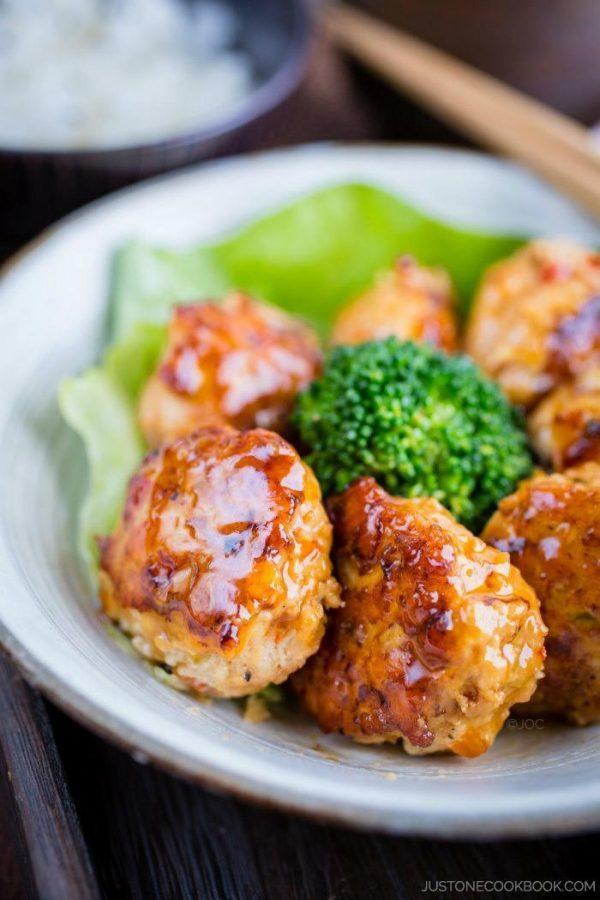 Teriyaki Chicken Meatballs   Easy Japanese Recipes at JustOneCookbook.com