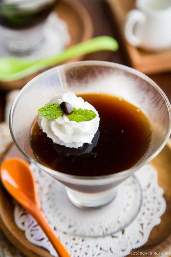 Coffee Jelly Recipe   Easy Japanese Recipes at JustOneCookbook.com