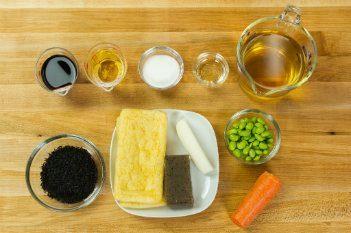 Hijiki Salad Ingredients