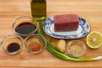 Tuna Tataki Ingredietns