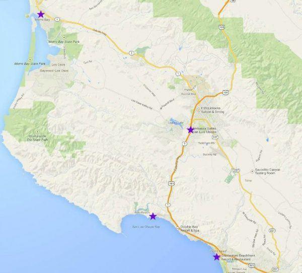 Google Map San Luis Obispo