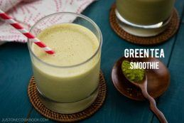 Green Tea Smoothie | Easy Japanese Recipes at JustOneCookbook.com