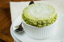Green Tea Souffle 抹茶スフレ