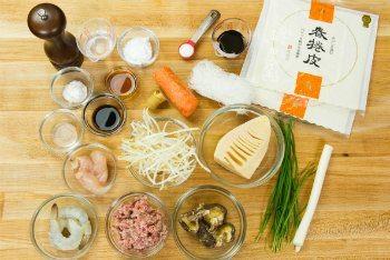 Harumaki Ingredients